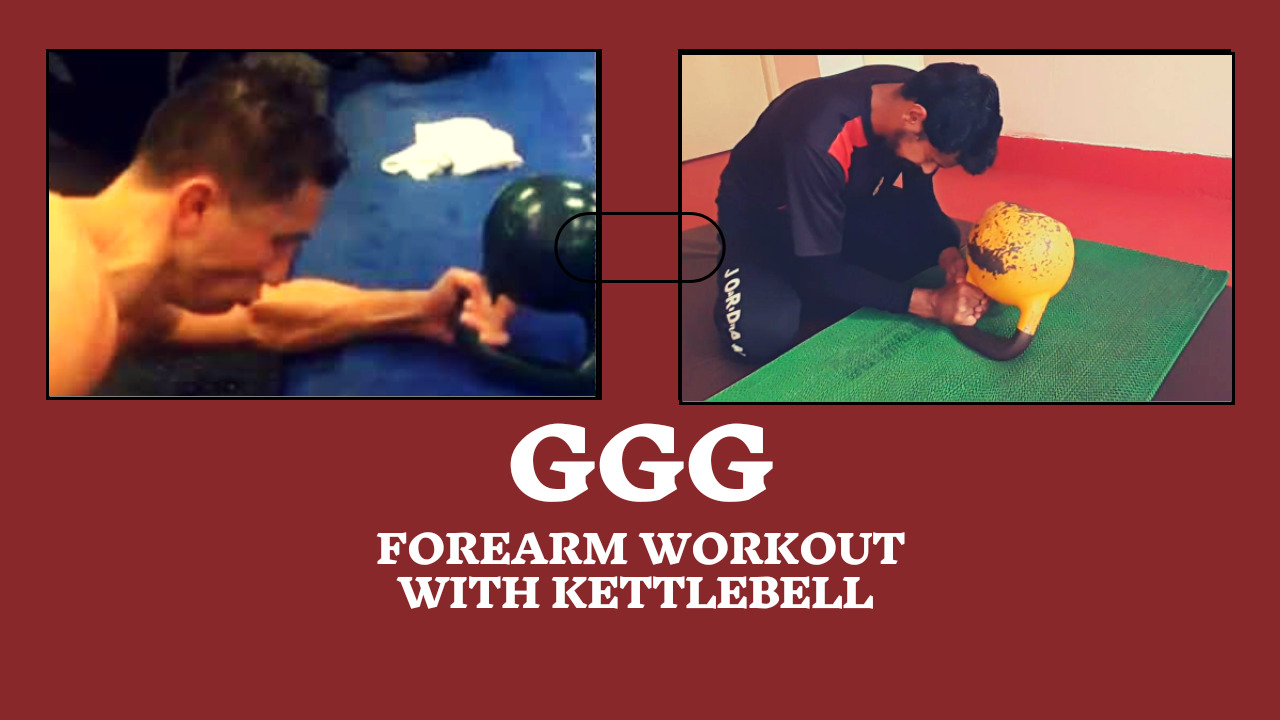 GGG Wrist Exercise With Kettlebell: Iron Fist