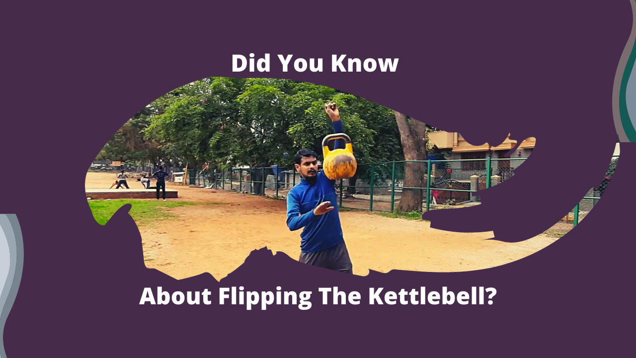 did you about flipping the kettlebell