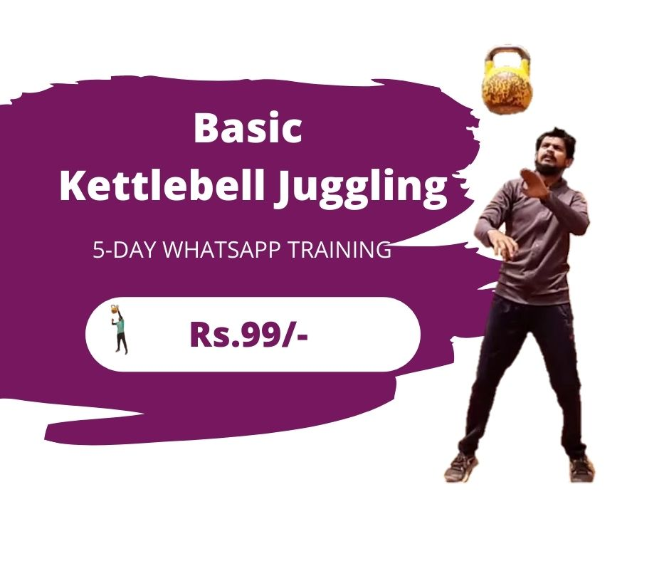 Learn Basic Kettlebell Juggling