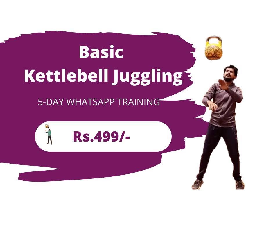 Kettlebell Juggling 5 Day WhatsApp Training