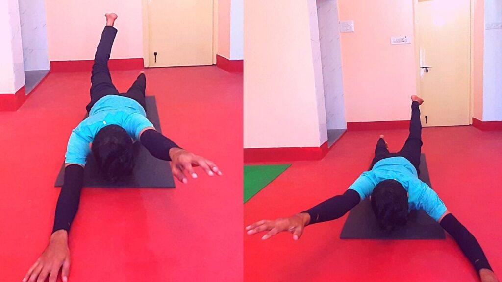 Back Pain Relief Salabhasana (Locust Pose)